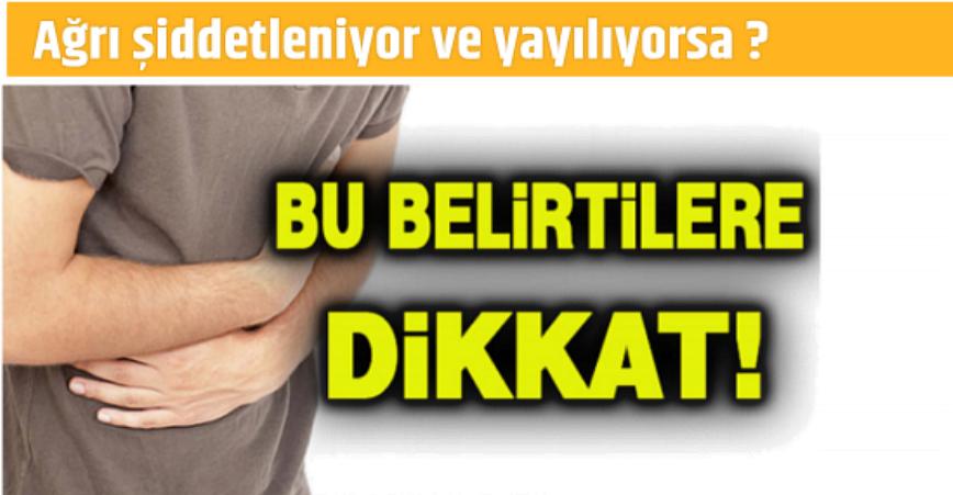 Photo of YEMEK SONRASI KARNIM AĞRIYOR DİYORSANIZ, BU HABER SİZE