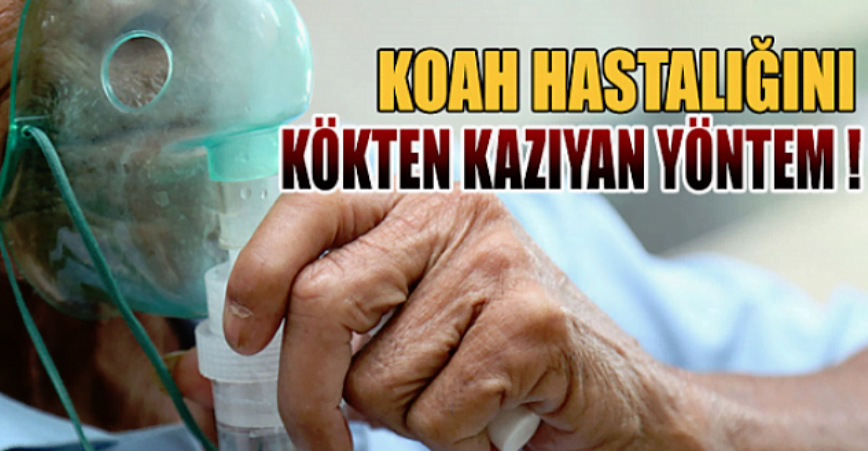 Photo of KOAH HASTALIĞINI KÖKTEN KAZIYAN YÖNTEM..