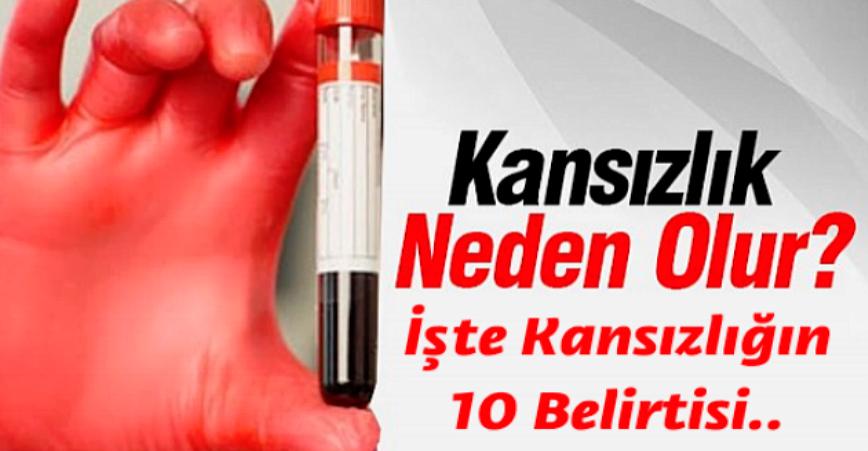 Photo of İŞTE KANSIZLIĞIN 10 BELİRTİSİ..