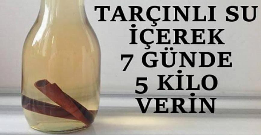 Photo of Tarçınlu Su İçerek 7 Günde 5 Kilo Verebilirsiniz!
