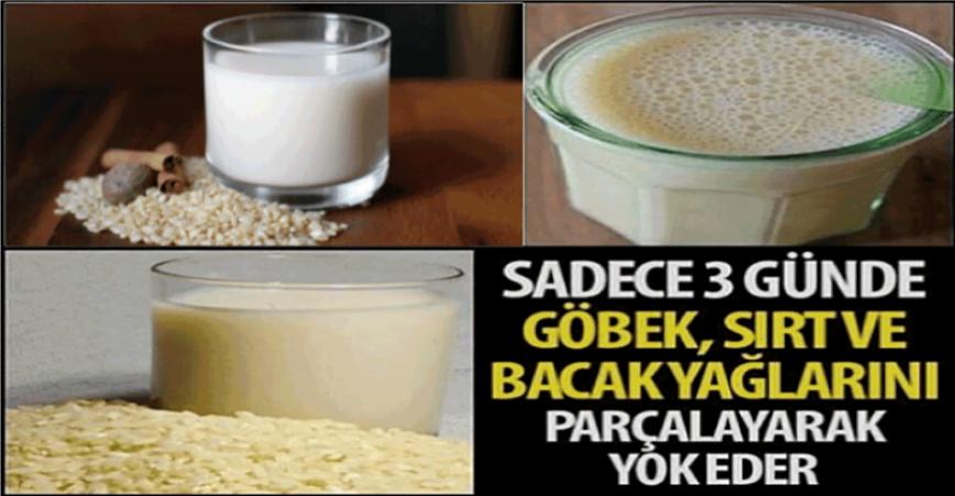 Photo of Pirinç Sütü İle Yağ Yakımı! Sadece 3 Günde Göbek, Sırt Ve Bacak Yağlarını Parçalayarak Yok Eder!