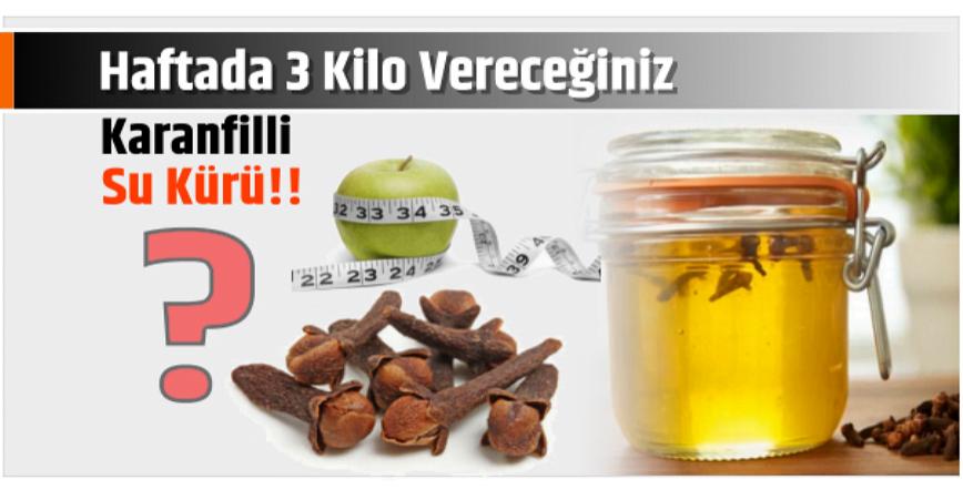 Photo of 1 Haftada 3 Kilo Vereceğiniz Kür..!!
