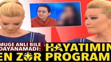 Photo of Müge Anlı: Hayatımın en zor programı..