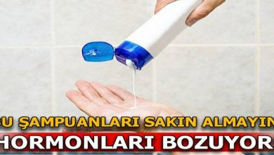 Photo of BU ŞAMPUANLARI SAKIN ALMAYIN! HORMONLARI BOZUYOR!