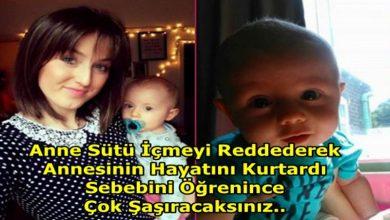 Photo of ANNE SÜTÜ İÇMEYİ REDDEDEREK ANNESİNİN HAYATINI KURTARAN KAHRAMAN BEBEK