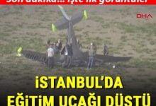 Photo of BÜYÜKÇEKMECEDE UÇAK DÜŞTÜ