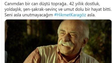 Photo of HİKMET KARAGÖZ HAYATINI KAYBETTİ